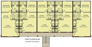 Unit Apartment Building Plans 8 Unit 2 Story Apartment Building 12 Unit Apartment Building Plans
