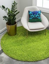 grass green 6 x solid round rug area rugs erugs