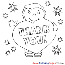 Thank You Black And White Printable Coloring Splendi Thank You Coloring Pages Free Photo