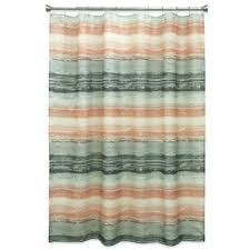c fabric shower curtains salmon colored curtain