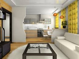 Modern Kitchen Living Room Open Plan In Small House Decoration Interior Design For Small Spaces Living Room And Kitchen