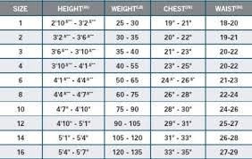 O Neill Youth Size Chart O Neill Womens Wetsuit Size Chart Oneill Wetsuit Size Chart