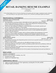 Retail Banking Resume Help Resumes Pinterest Resume Help And