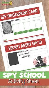 Printables Kids James Activities Budding For Bond Free Spy Your
