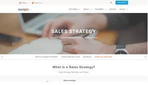 7 Sales Strategy Templates You Wish You Had Earlier Woveon