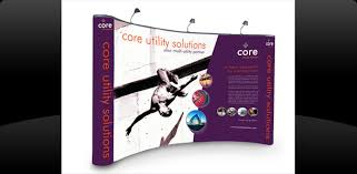 Portable Display Stands For Exhibitions Beauteous Pop Up Exhibition Stands And Banner Stands EVM Glasgow Scotland
