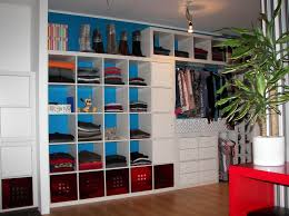 image of diy walk in closet shelves