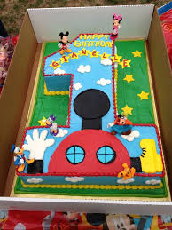 Mickey Mouse Clubhouse Birthday Cake Google Search Birthdays