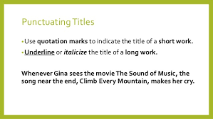 quotation marks and quoted material 5 punctuating titles bulluse quotation marks