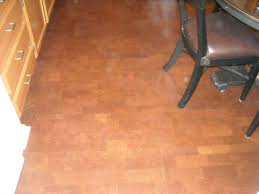 Cork Floor In Kitchen Pros And Cons Pros And Cons Of Cork Flooring In Kitchens With Nice Leather