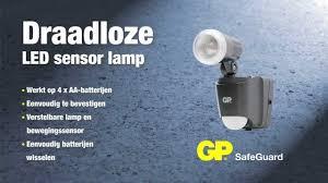Buitenlamp Met Sensor Op Batterijen