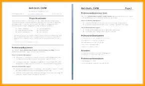 Two Page Resume Examples Resume Examples 40 Pages Multiple Page Interesting Resume 2 Pages