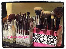 square gl shelves plastic beads inexpensive sephora like storage for your makeup brushes