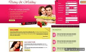 Free Wedding Website Templates Inspiration 24 Free HighQuality XHTML And CSS Web Layout Templates Ginva