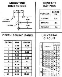 electroswitch switches relays rco s inc eslrdata