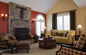 red accent wall for living room 2018 interior design blog