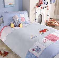 stylish look bedroom with frost twin duvet cover baby