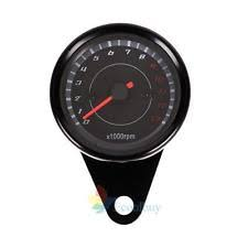 unbranded motorcycle speedometer durable 12v backlight led night light tachometer gauge motorcycle speedometer