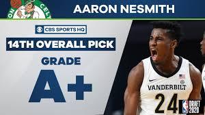 Boston Celtics select Aaron Nesmith ...