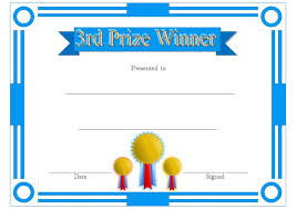 Home A Certificate Template Blank Student Or Academic Award Le Place