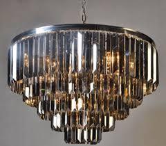 Casa Padrino Luxus Kronleuchter Silber Schwarz ø 80 X H