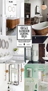 Charming Vintage Bathroom Lighting Fixtures Design For Furniture ...