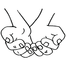 free printable hand washing coloring pages page cupped hands