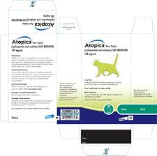 Atopica For Cats Elanco Us Inc Veterinary Package Insert