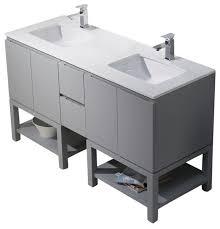 emmet 60 double vanity bathroom vanities and sink consoles by bathroom place