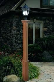 solar panel garden lights patio lamp post trinity powered outdoor string