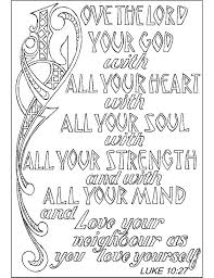 Love Bible Verse Coloring Pages Printable Coloring Page For Kids