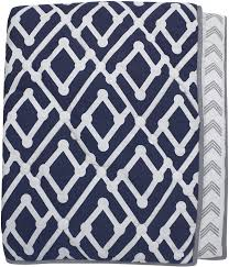 Lambs & Ivy Jensen Collection Reversible Coverlet: Amazon.ca: Baby