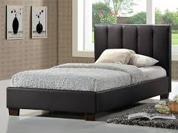 ireland queen faux leather bed pulsar brown est beds ireland queen faux leather bed