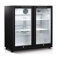 glass door bar fridges husky double glass door bar fridge in black glass door bar fridges glass door bar fridges