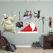 fathead wall art nightmare before collection fathead wall decal fathead l