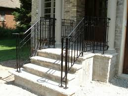 exterior wrought iron stair railings. Brilliant Railings Wrought Iron Stair Railing Exterior Good  Railings Stairs Decoration Intended For Throughout U