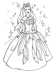 Princess Colouring Pages Coloring Page