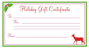 Plain Gift Certificate Template Blank Christmas Coupon Templates Printable Jaylee Asked Me To Whip