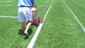 Field Lining Machine Trueline APT Grass Football and Soccer Field