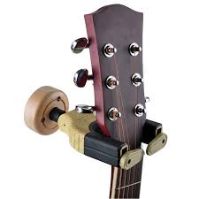 wall mount hooks stand wooden guitar hanger holder two color