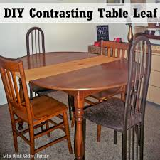 a new leaf for our dining table