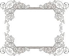 antique frame border png. More Free Clipart - Vintage Frames Borders \u0026 Ornaments ClipArt Best Antique Frame Border Png E