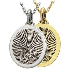 petite oval fingerprint jewelry fp 3543 3561b