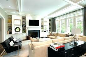 built in cabinets living room built ins around fireplace in cabinets living room contemporary with building