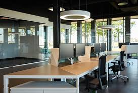 office canteen. Kemkens Office Furnished With Trigon Desks For Optimal Routing Through The  Office. Title\u003d Canteen
