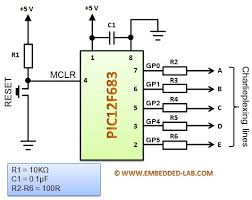 making a mini led christmas tree embedded lab microcontroller circuit five charlieplexing lines