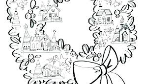 Wreath Coloring Page Advent Wreath Candles Coloring Page Advent