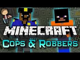 minecraft cops and robbers mini game w mitch friends