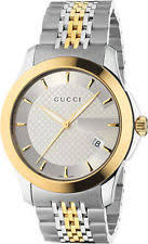 gucci 9700m. gucci stainless steel band wristwatches with date indicator 9700m v