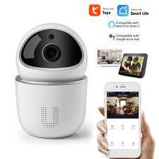 Camera WiFi IP 720P Đám mây Thông minh Theo dõi Tự động An ninh Giám sát An  ninh Gia đình Camera không dây Camera quan sát hai chiều